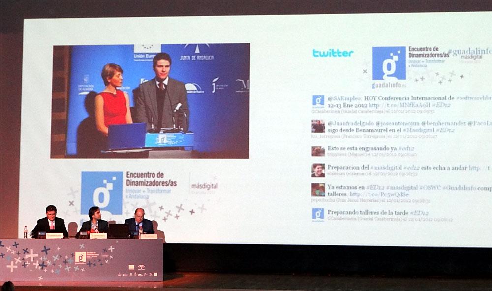 Fernando Díaz de la Guardia y Silvia Sanz, en la presentación de #ed12