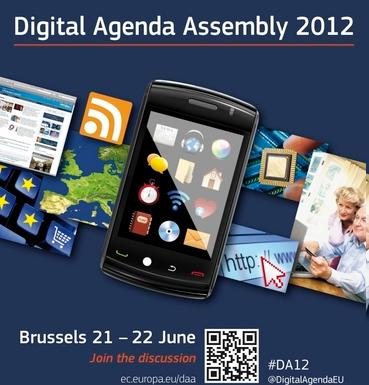Asamblea de la Agenda Digital Europea 2012