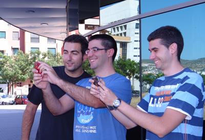 Javier, Alberto e Ignacio, creadores de i+TIC.