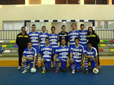 El equipo juvenil del centro Guadalinfo de Ibros.