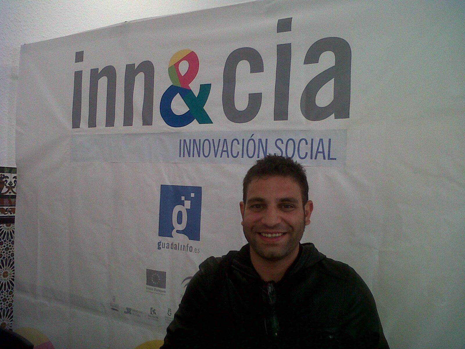 Rafael Fernández, uno de los promotores de Eco Cultural 'Conviven'