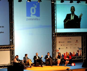 El debate sobre Guadalinfo sirvió para fijar objetivos.