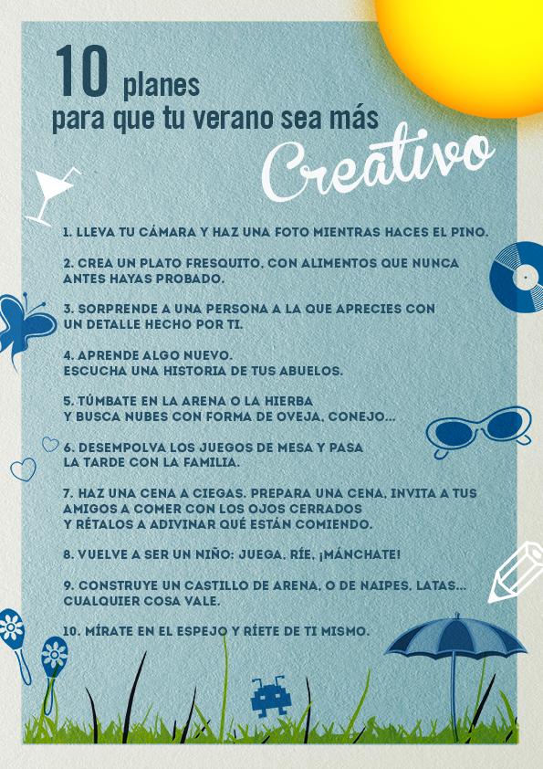 10 cosas creativas que hacer este verano blog guadalinfo - Que hacer en vacaciones ...