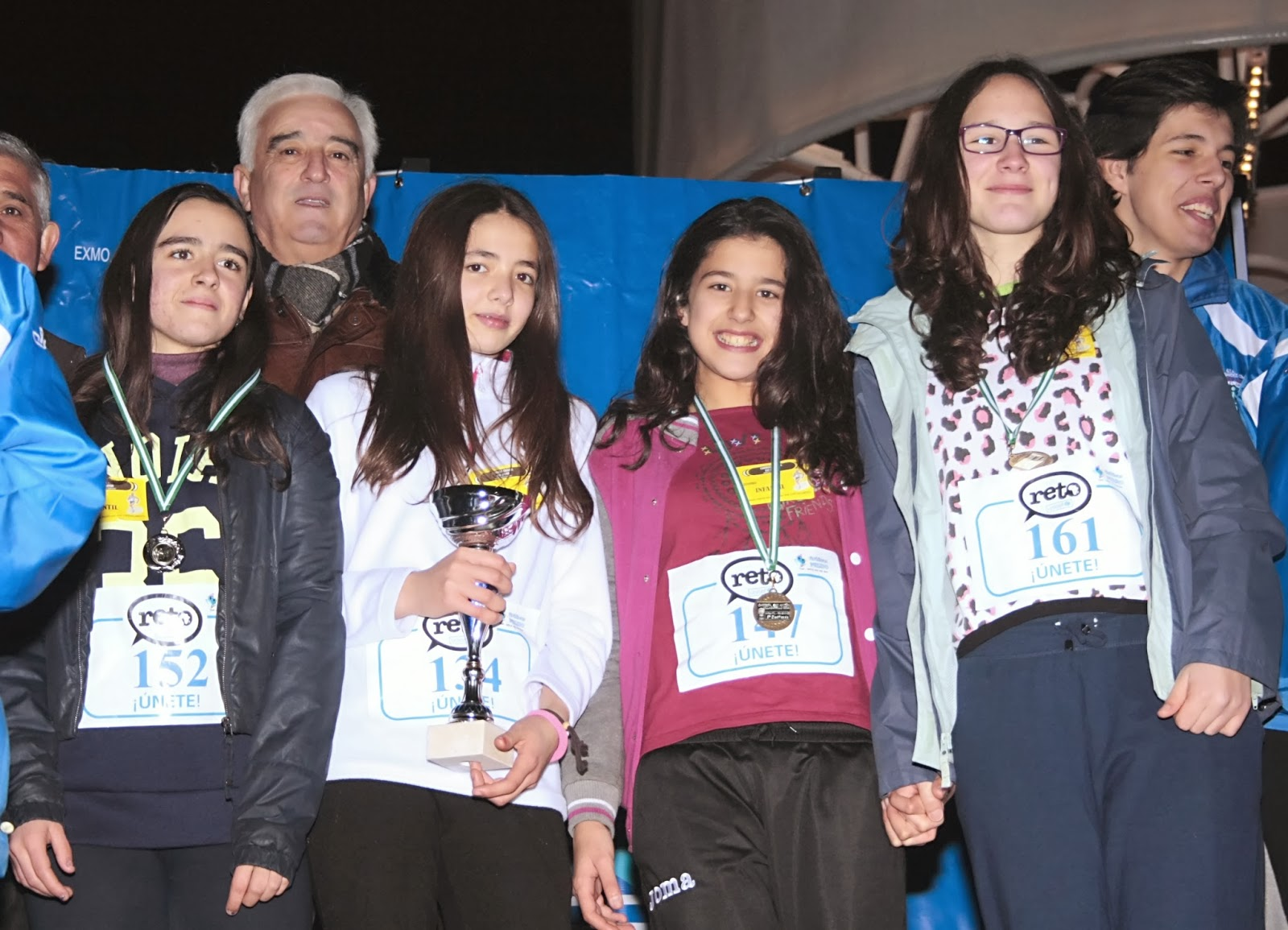 Entrega premios carrera en Villacarrillo