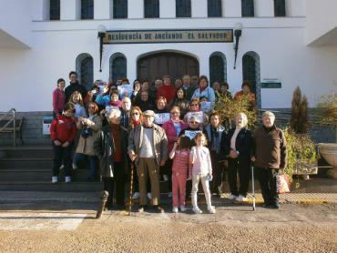 Grupo de participantes de Pedroche