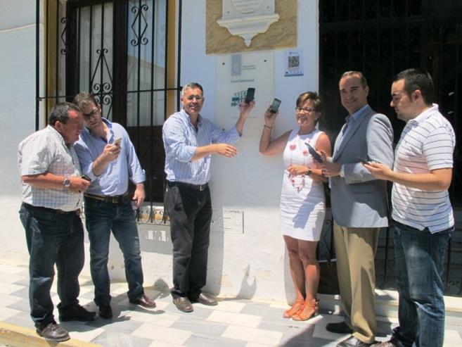 Momento de la presentación del proyecto Conecta a Tu municipio