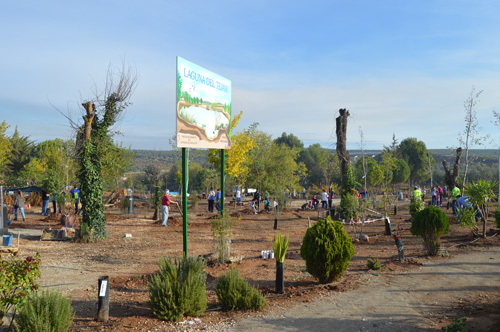 200 árboles para la Laguna del Tejar