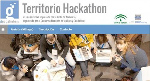 Web www.territoriohackathon.es