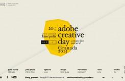 Imagen del Adobe creative day Granada 2015