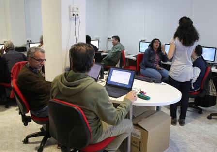 Desarrollo del curso de Herramientas Google en CAPI Zaidín