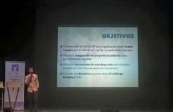 Momento de uno de los talleres en competencias digitales ( Foto de Guadalinfo Fuenteheridos)