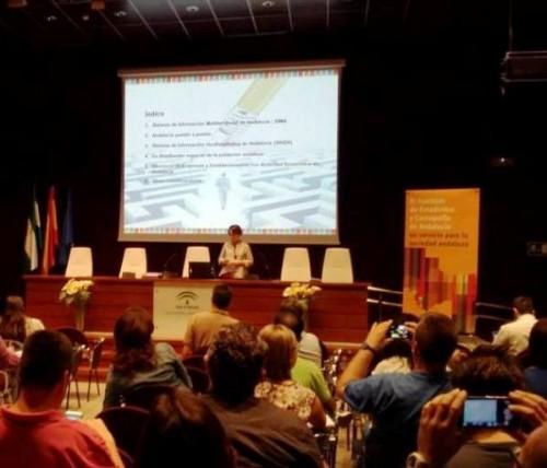 Momento de la Jornada de Formación del IECA para Agentes Guadalinfo celebrada en Sevilla