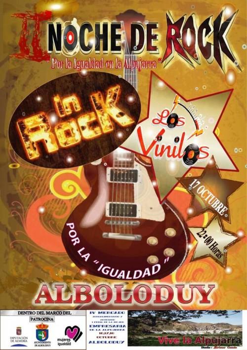 noche de rock igualdad