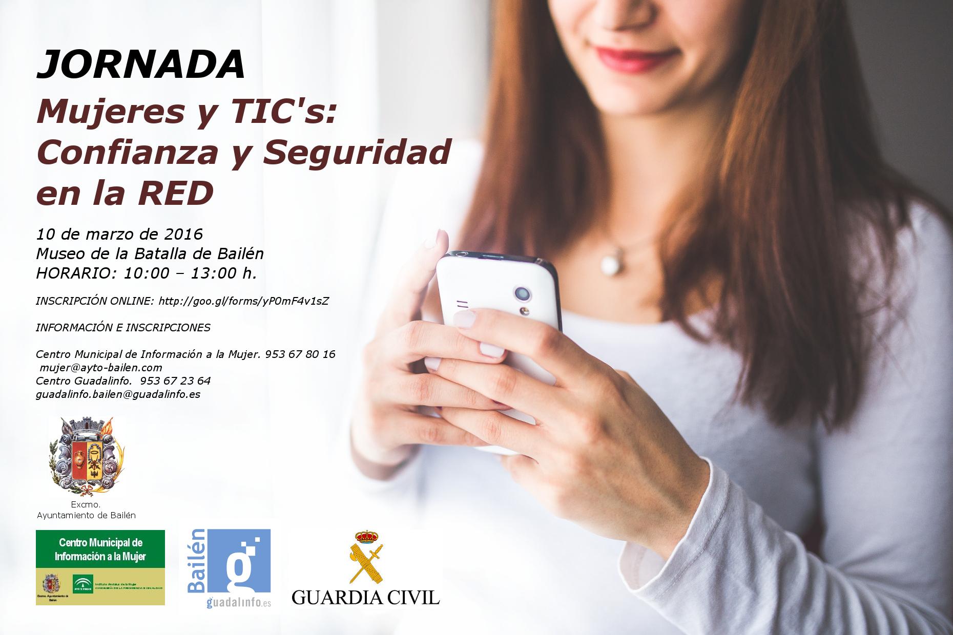 CARTEL JORNADA MUJERES Y TICS