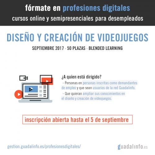 Fórmate en profesiones digitales: Creación de videojuegos