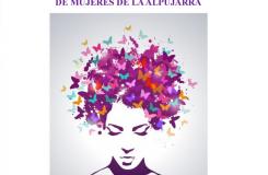 Cartel del X Encuentro de la Federación de Asociaciones de Mujeres de la Alpujarra