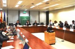 Imagen de la reunión del Consejo Rector del Consorcio Fernando de los Ríos celebrado en Sevilla el 10 de diciembre de 2015.