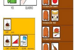 Carta adaptada con pictogramas a persoas con TEA