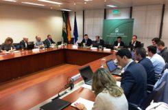 Imagen de la sesión del Consejo Rector reunido el 16 de diciembre de 2016 en Sevilla
