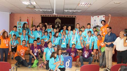 Guadalinfo reúne en Valderrubio a 30 menores de 7 a 13 años para diseñar juegos y videojuegos educativos sobre las matemáticas