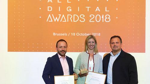 Una agente Guadalinfo elegida la mejor facilitadora tecnológica de Europa, y otro entre los finalistas
