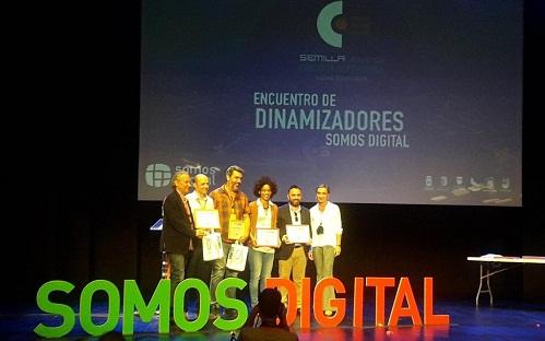 """Guadalinfo sitúa dos ganadores y cuatro finalistas en los premios del II Encuentro de dinamizadores """"Somos Digital"""""""