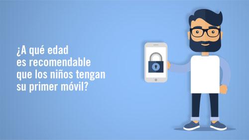 ¿A qué edad es recomendable que los niños tengan su primer móvil?