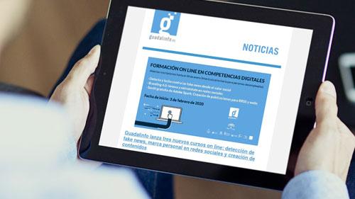 Todas las noticias del mes de enero en la Newsletter de la Red Guadalinfo