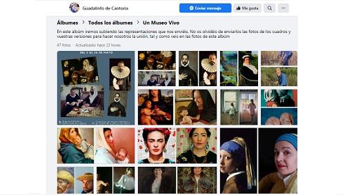 GuadalinfOnline: cultura innovadora y participativa con recreaciones artísticas protagonizadas por vecinos/as de Cantoria (Almería)