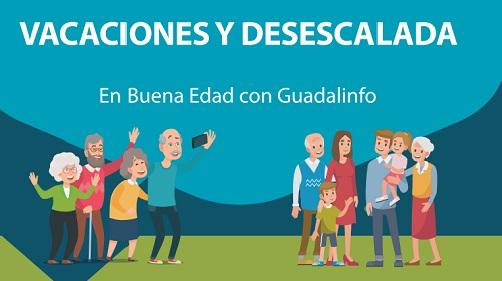 Vacaciones y desescalada «En Buena Edad» con Guadalinfo